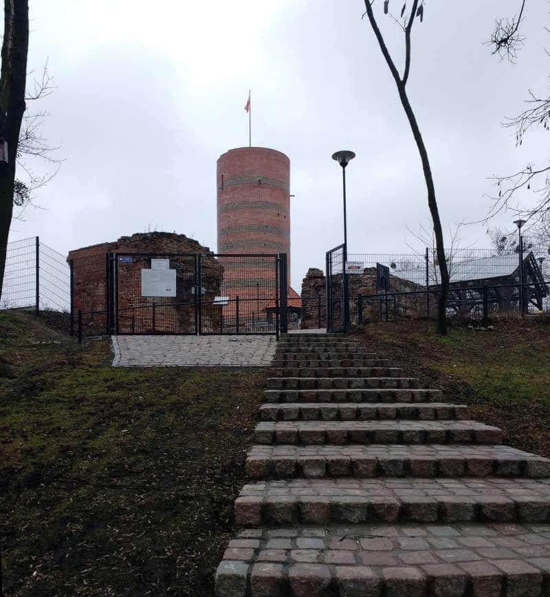 Pozostałości zamku krzyżackiego w Grudziądzu, wieża Klimek